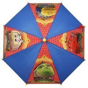 Chuggington School Rain Brolly Umbrella - http://www.fivedollarmarket.com/chuggington-school-rain-brolly-umbrella/