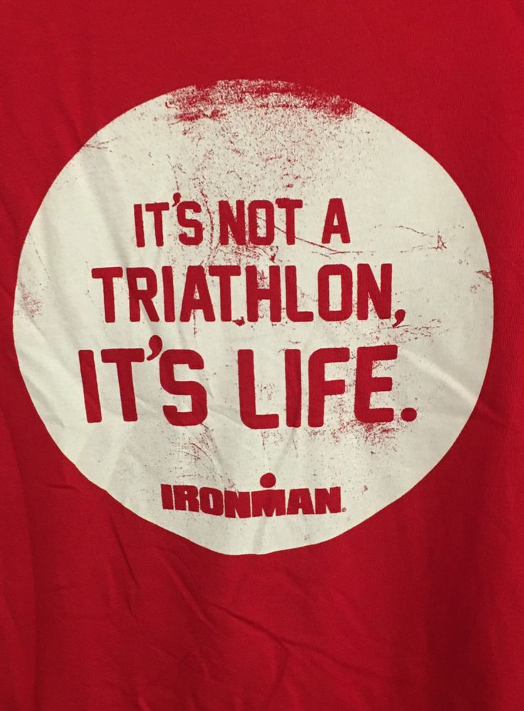 The meaning of triathlon for all of those athletes who are driven by this sport.