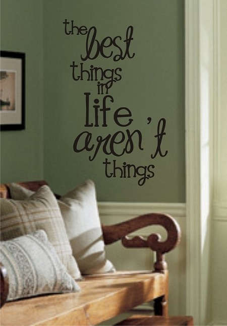 169 best cute wall sayings decals images on pinterest - Things to put on a wall ...