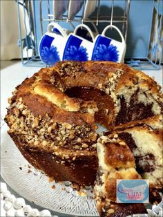 Anne Usulü Mermer Kek | Leyla'nın Kahve Dükkanı