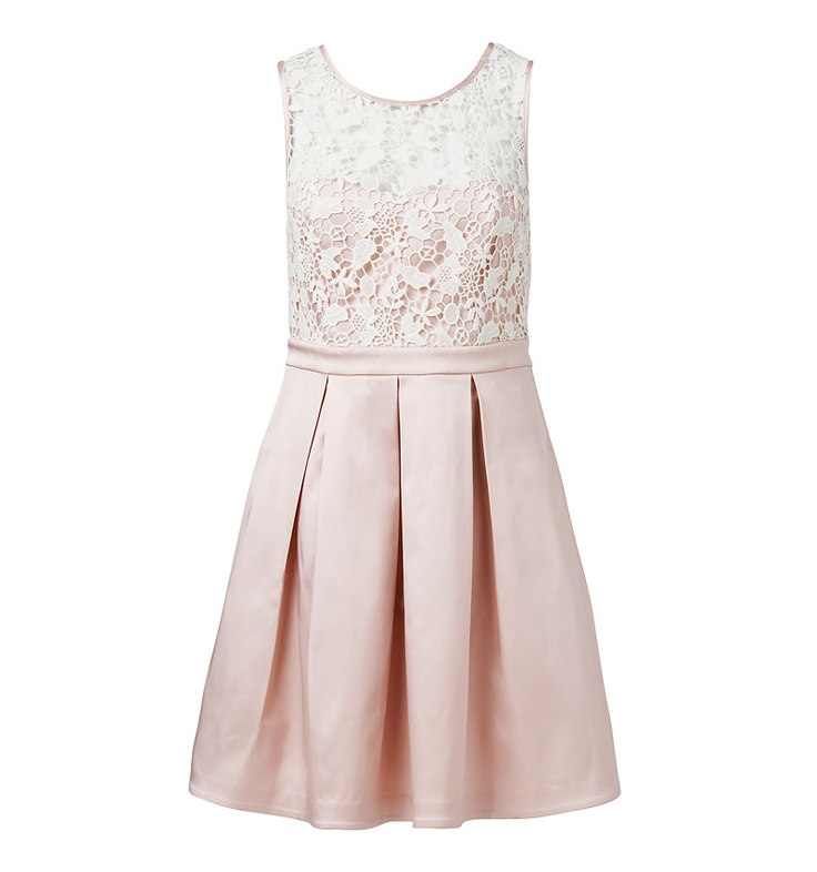 Vivienne Lace Overlay Dress - Forever New