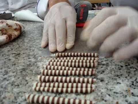 Finishing Chocolate Cigarettes