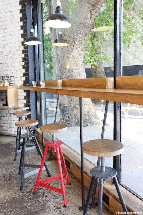 Window Counter Seating Restaurant Design Google Search Cafe Interior Cafe Design