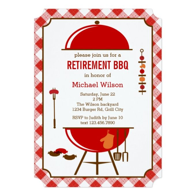 1171 best BBQ Invitations images on Pinterest Barbecue Barrel