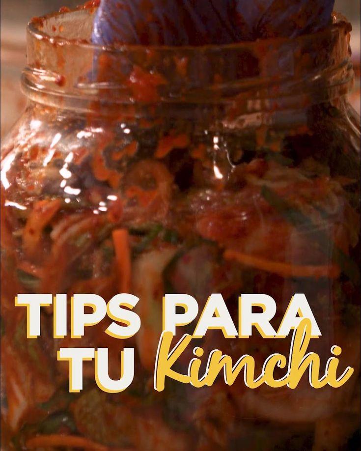 Conoce los secretos para que tu kimchi quede más que delicioso. Kimchi, Asian Recipes, Plant Based, Salsa, Recipies, Food And Drink, Ideas, Gourmet, Meals