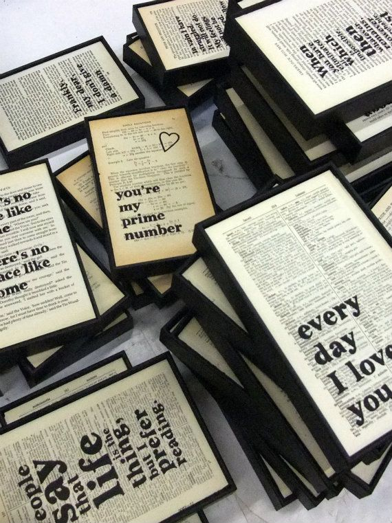 wall envy art typographic onto music or old book pages