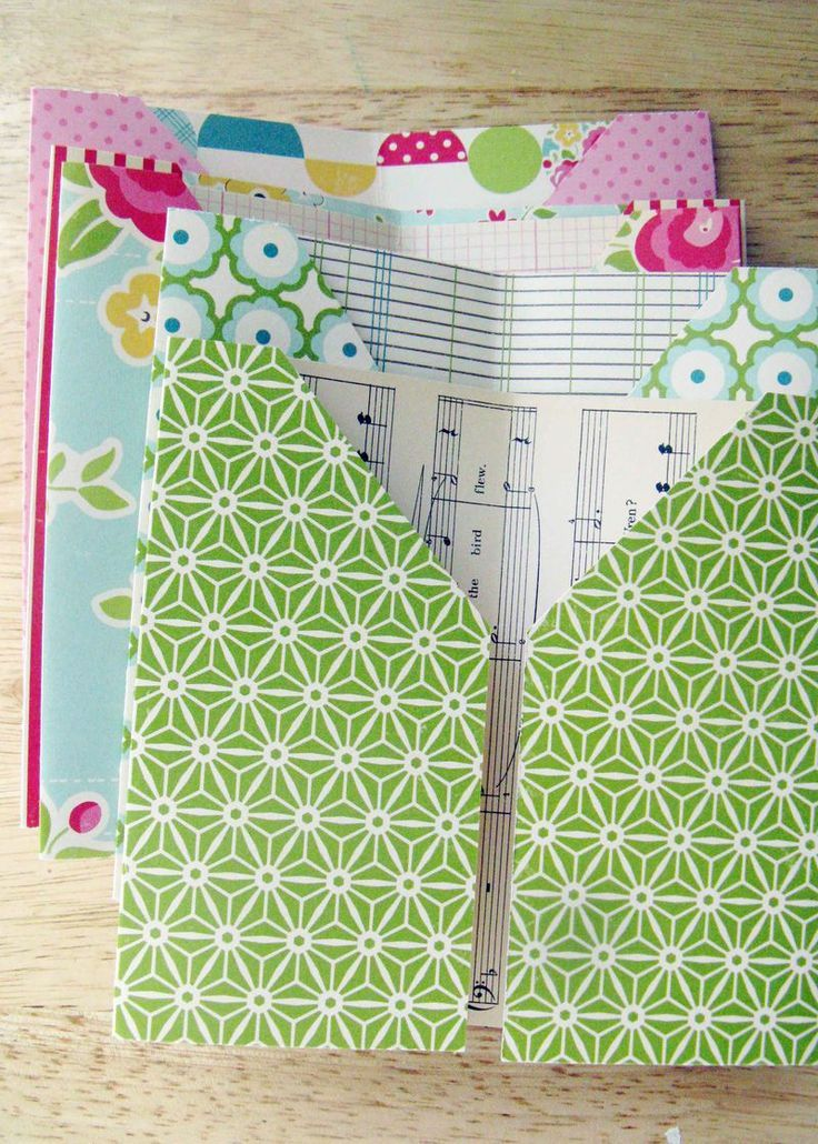 Pocket page mini tutorial Maybe I could use this to organize receipts in my purse!  Or Cash?  Each page for different areas of the budget!   Lots of possibilities!