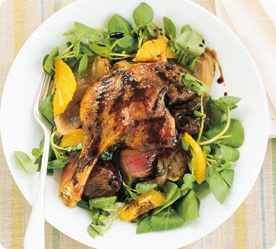 Balsamic-Glazed Duck Salad by Annabel Langbein- delicious!