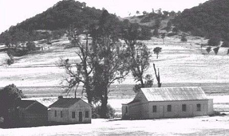 Old Images of Rylstone District: Dabee Shearing Quarters and Kitchen