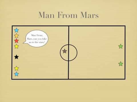 Physical Education Games - Man From Mars warm up
