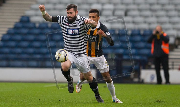Queen's Park's Bryan Wharton on the ball during the SPFL League Two game between Queen's Park and East Fife.