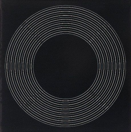 Ralph Hotere, Black painting concentric circles