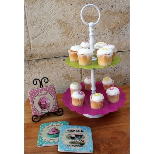 Homewares and Home Decor Online - 2 Tier Cupcake Stand