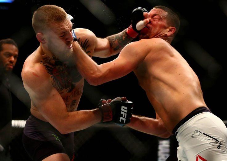 UFC 196: Nate Diaz upsets Conor McGregor; Miesha Tate chokes out...: UFC 196: Nate Diaz upsets Conor McGregor;… #HollyHolm #MieshaTate