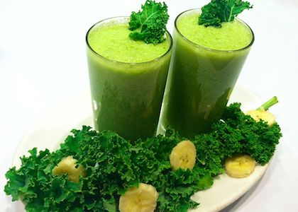 In the Reboot Kitchen: Joe's Mean Green Smoothie | Reboot With Joe- closest to the juice he made on a daily basis