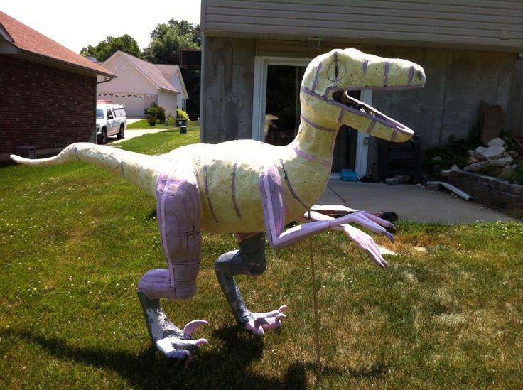 paper mache dinosaur - Buscar con Google