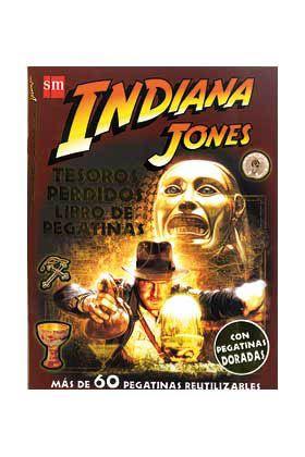 Libro Indiana Jones. Tesoros perdidos. Libro de pegatinas