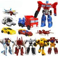 Wish | Transformer Robot Cars Optimus Prime Megatron Toys For Christmas Kids Racing Action Gift