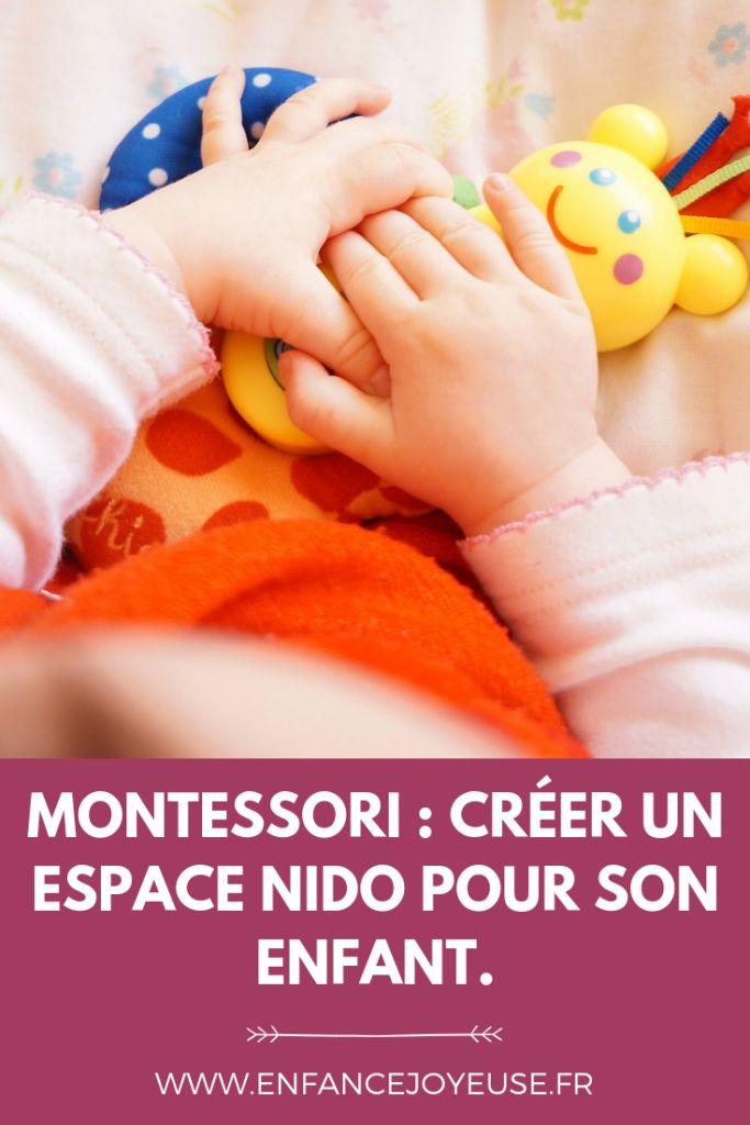 Montessori: Créez un espace nido à la maison   – b