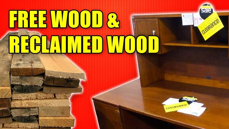 Where to find sources of affordable reclaimed wood. #wood #woodworking #reclaimed