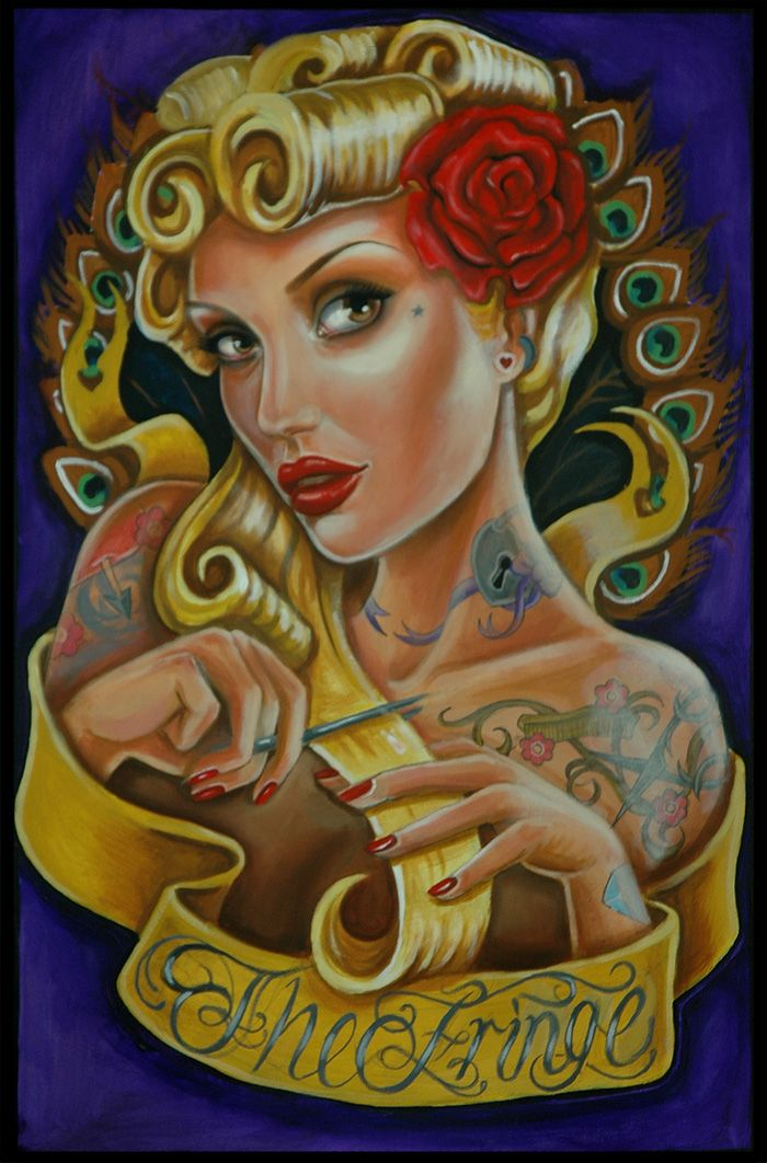 Tattoo Paintings By Lisa Mcintyre Tattoo Style Art Art Ink