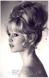 Bridget Bardot for wedding hair.