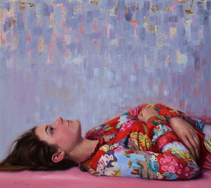 """Infinity"", Oil on panel, 80x90 cm. Painting by Carolien van Olphen"