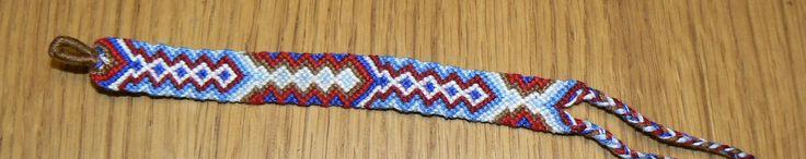 Guatelmala-marine friendship bracelet