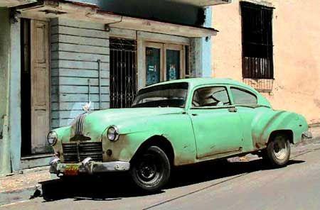 voiture am ricaine ann es 1950 american car pinterest cuba. Black Bedroom Furniture Sets. Home Design Ideas