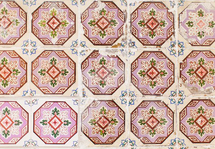 Lisbon patterned tiles