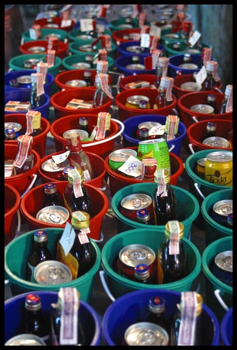 buckets of joy at Full Moon Party #ikreisgraag @reisgraag