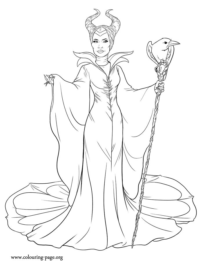 Disney Maleficent Printable Coloring And Activity Sheets