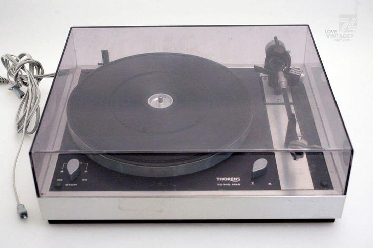 THORENS TD 145 MKII Plattenspieler - cyan74.com vintage and pop culture