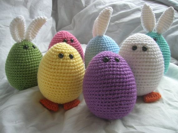 Amigurumi Fried Egg Pattern : 17 Best images about Crochet - Easter (Velikonoce) on ...
