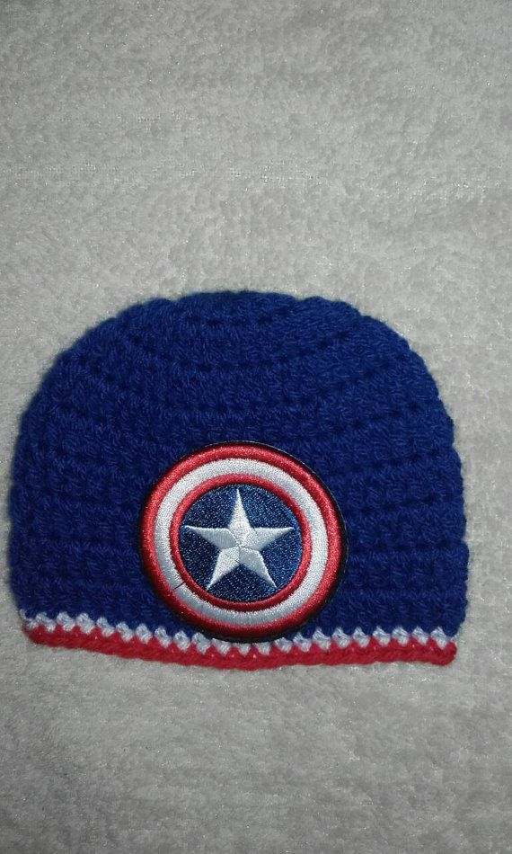 Check out this item in my Etsy shop https://www.etsy.com/uk/listing/464900959/captain-america-hat-men-beanie-hat-super