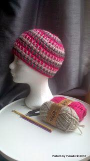 Pukado By Patricia Stuart: Free Crochet Pattern! Double Up Hat