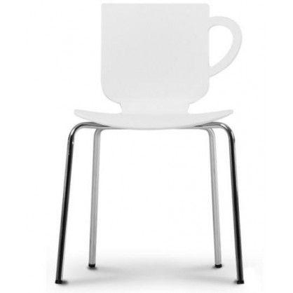 Krzesło Break białe