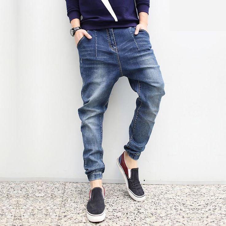 38.90$  Buy now - https://alitems.com/g/1e8d114494b01f4c715516525dc3e8/?i=5&ulp=https%3A%2F%2Fwww.aliexpress.com%2Fitem%2FFashion-2015-New-Baggy-Elastic-Harem-jeans-Men-Plus-Size-Taper-Jeans-Joggers-Casual-Hip-hop%2F32343234856.html - Fashion 2016 New Baggy Elastic Harem jeans Men Plus Size Taper Jeans Joggers Casual Hip hop Legging Pants Pencil Jeans Calv Jean 38.90$