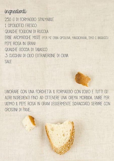 crema di formaggio aromatica by il gatto goloso, via Flickr