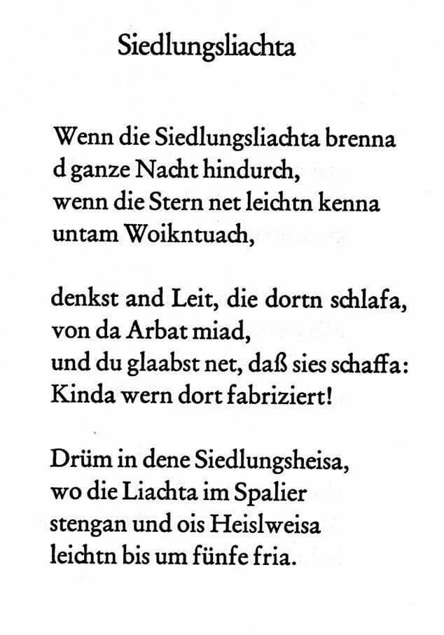 Gedicht von Franz Ringseis