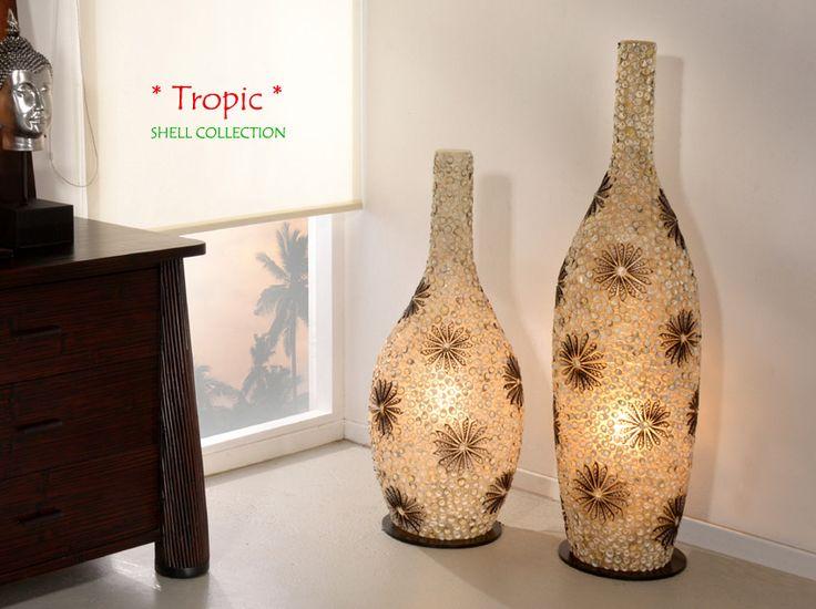 Nice Lampen Hier bieten wir Ihnen interessante Designer Lampen passend zu allen Collectionen Edle und hochwertige Bambuslampen Muschellampen und