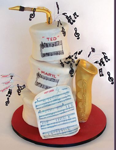Original Cakes for Music Lovers.