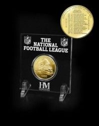 Dallas Cowboys 2015 Bronze NFL Schedule Coin