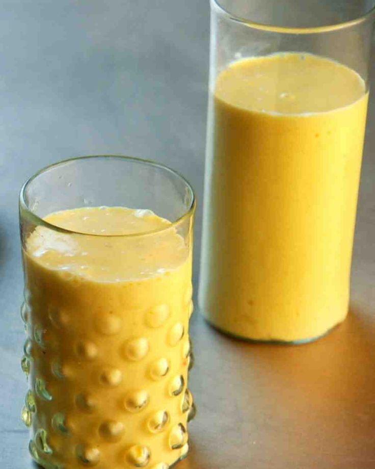 Mango-Cardamom Lassi Smoothie - Martha Stewart