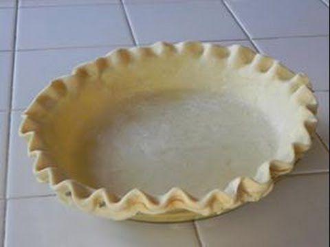 Como hacer masa para Pay - Pie Crust - NuestraCasa2013 - YouTube
