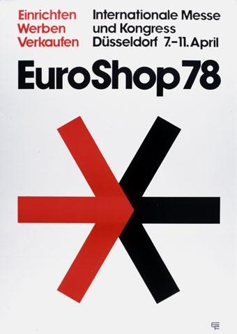Uwe Loesch, 1978 #poster #euroshop #tradefair