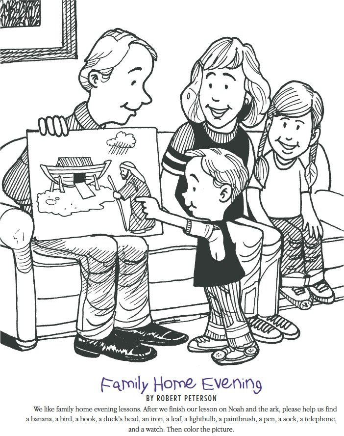 Family Home Evening Planner This Site Has Some Great Ideas For Monthly Themes