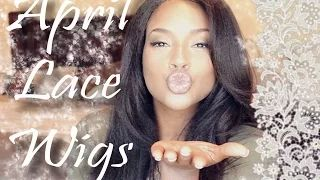 Finally a Natural looking wig!!!! (April Lace wigs-the silk top experts) - YouTube