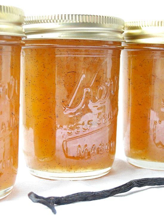 Lovely Delicious Vanilla Pear Jam - Flour On My Face