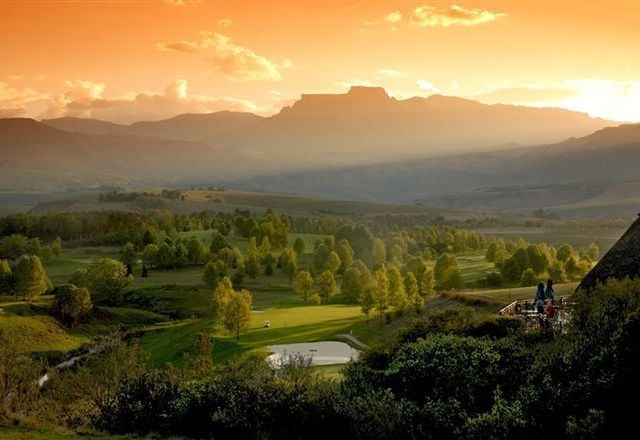 Dragons Peak - view from Champagne Sports Resort http://www.n3gateway.com/things-to-do/golfing.htm